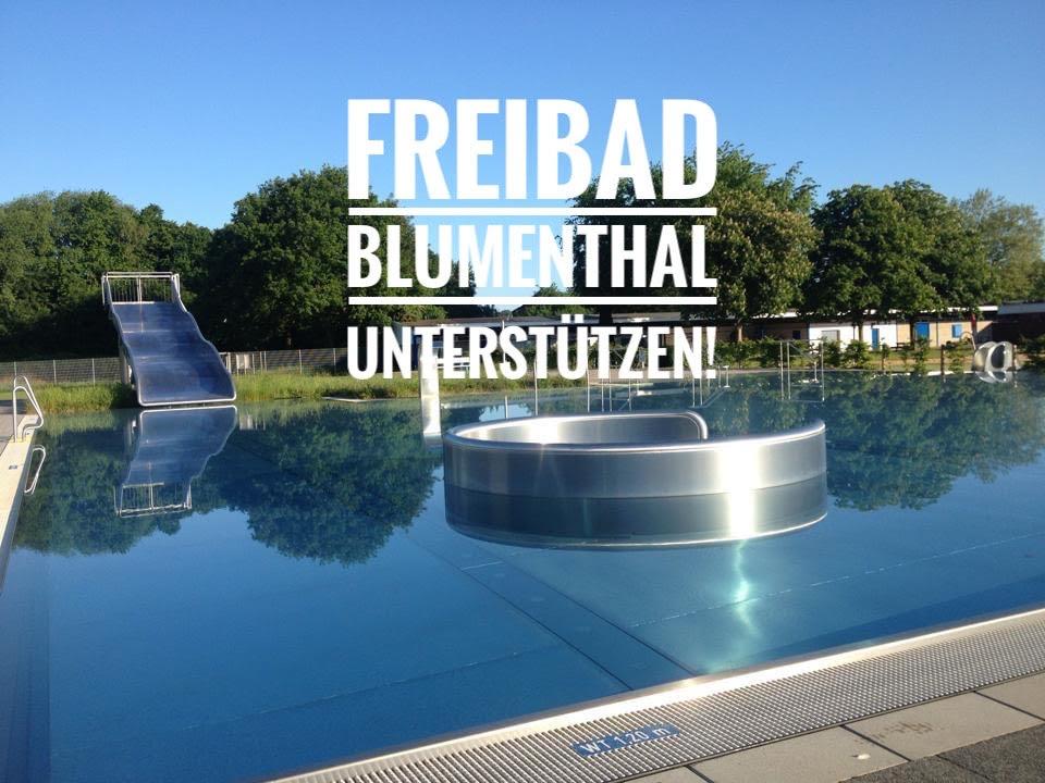 Freibad Blumenthal im Sommer 2019