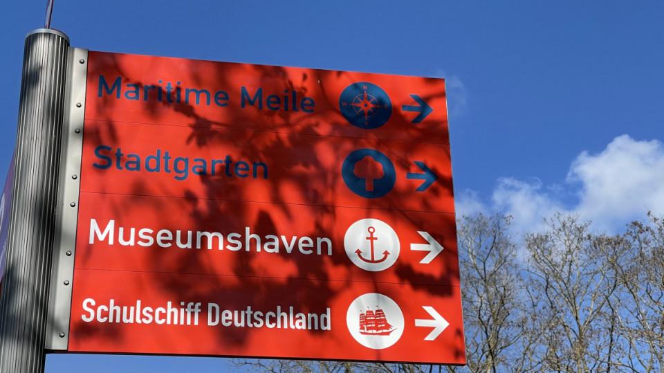Die Maritime Meile in Vegesack